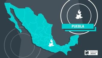 Mapa referencial del estado de Puebla