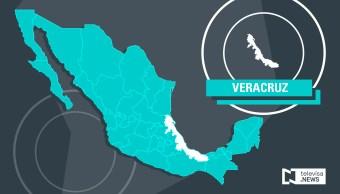 Vuelca automóvil en carretera de Veracruz; no hay lesionados