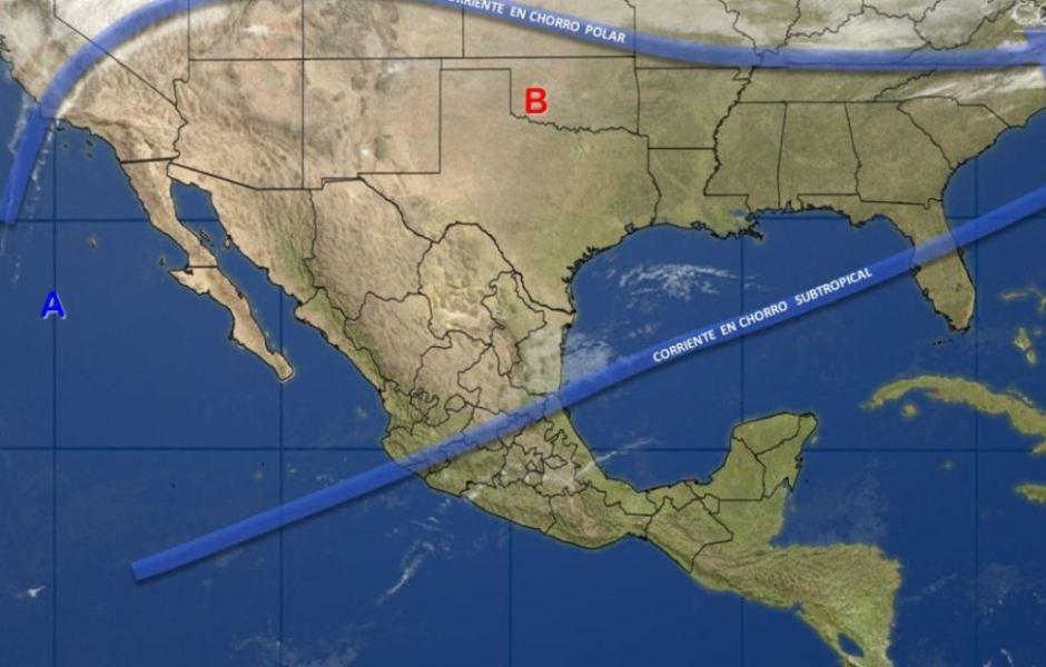 Mapa con el pronóstico del clima para este 1 de febrero; aumentarán las temperaturas en México. (SMN)