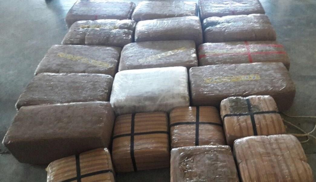 Marihuana incautada y empaquetada; personal de la PGR asegura un inmueble en Zacatecas donde se embalaba el enervante