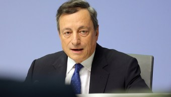 Mario Draghi, presidente del Banco Central Europeo (BCE) (Getty Images)