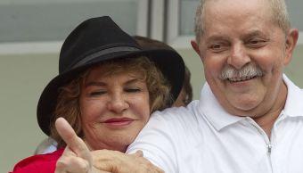 Marisa Leticia Rocco y Luiz Inácio Lula da Silva