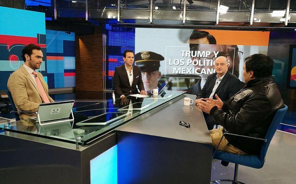 Mesa de análisis de la política mexicana en Despierta con Loret (Noticieros Televisa)