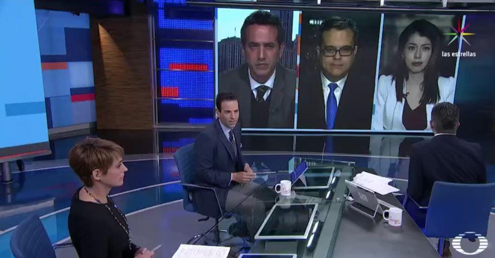 Mesa de análisis de un día sin latinos en Estados Unidos, en Despierta con Loret (Noticieros Televisa)