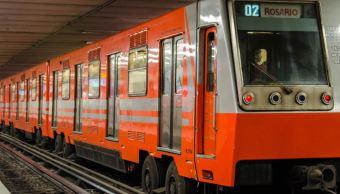 Fotografía que muestra un tren del STC Metro. (@MetroCDMX)