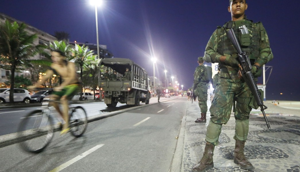 Fuerzas Armadas patrullarán Río de Janeiro en un contexto de conflicto laboral con la policía militar (Getty Images/archivo)