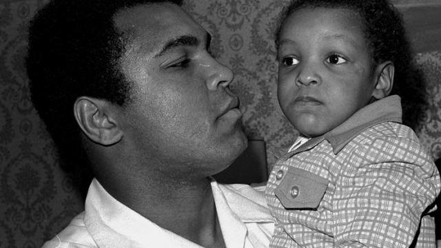 Muhammad Ali y su hijo Muhammad. (AP, archivio)
