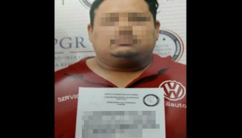 """Eleazar Palomo Castillo, alias """"el Cochi"""", fue detenido la semana pasada (PGR)"""