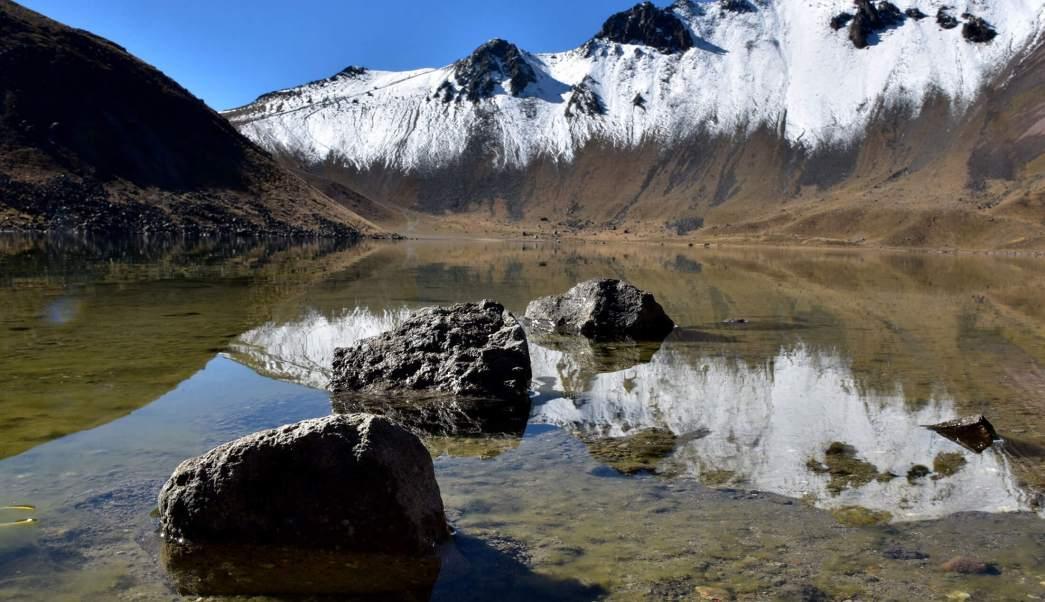 El Nevado de Toluca es la cuarta montaña más alta de México y se ubica entre los municipios de Calimaya, Zinacantepec, Tenango del Valle y Villa Guerrero, en Edomex.