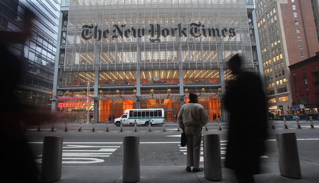 El periódico 'The New York Times' emitirá un mensaje durante los Oscar contra mediadas de la Casa Blanca de vetar a medios de comunicación (Getty Images)