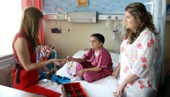 Atención a niños con cáncer en el IMSS. (IMSS)