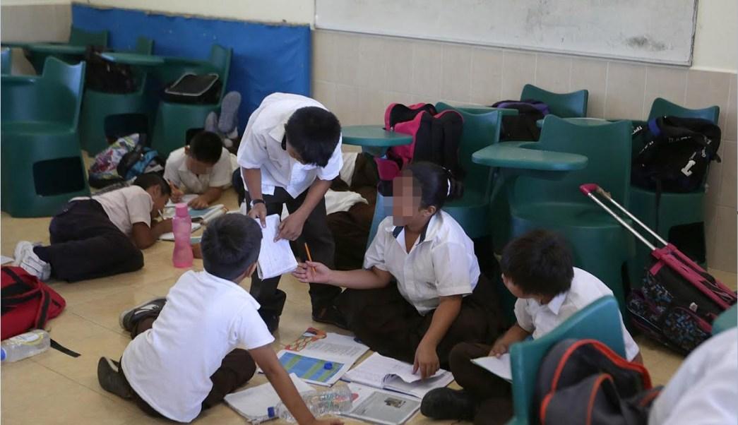 Alumnos de primaria. (Notimex, archivo)