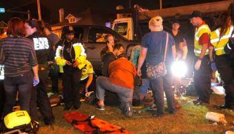 El diario local 'The New Orleans Advocate', aseguran que hay una docena de personas heridas en condición grave (Twitter The New Orleans Advocate)