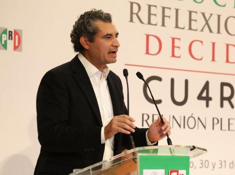 Ochoa Reza aseguró que necesario fortalecer la capacidad de seguridad de los cuerpos estatales y locales para el bien de la seguridad pública (Twitter/@EnriqueOchoaR)