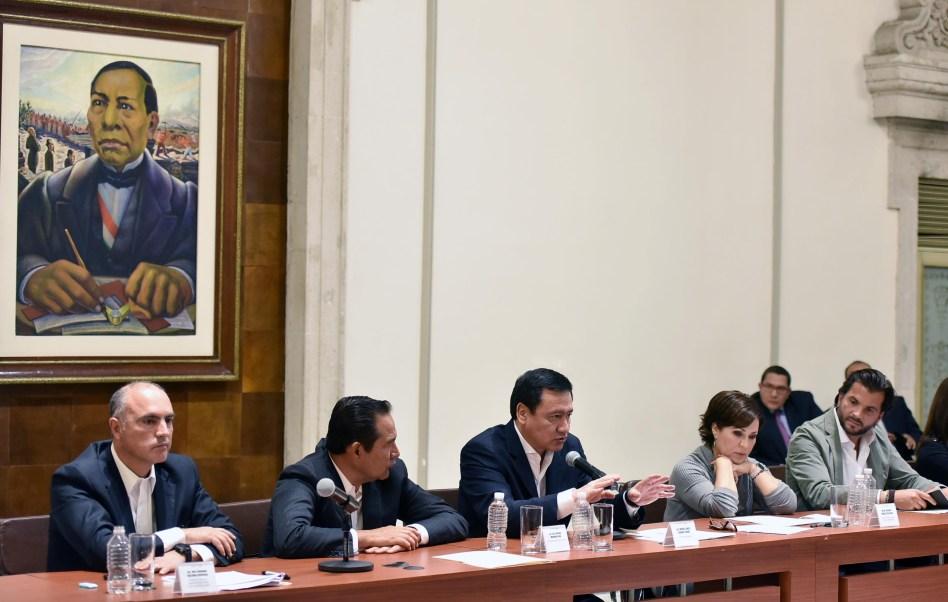 Osorio Chong precisó que el Gobierno de EPN está abierto al diálogo. (Secretaría de Gobernación)
