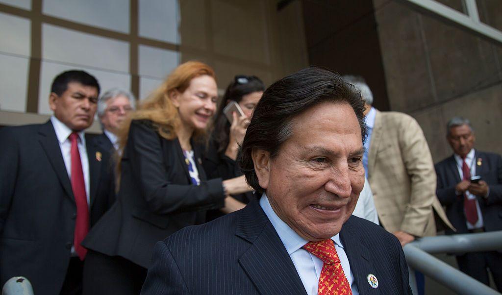 Perú colocó al expresidente Alejandro Toledo en la lista de delincuentes más buscados del Ministerio del Interior.