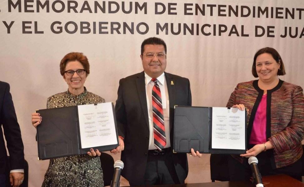 La Agencia de los Estados Unidos para el Desarrollo Internacional anunció que Ciudad Juárez, Chihuahua y siete municipios más, recibirán 25 millones de dólares del Plan Mérida para prevenir la violencia.