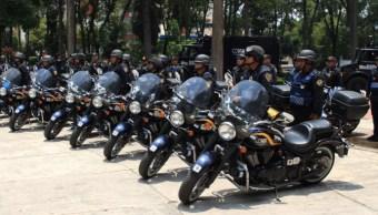 Más de tres mil policías capitalinos alistan operativos por marchas del domingo contra Trump (Twitter @SSP_CDMX)