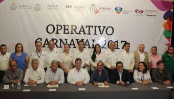Presentan operativo de seguridad para el Carnaval de Veracruz 2017 (Twitter @carnaval_ver)