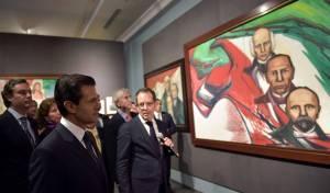 """El presidente Enrique Peña Nieto inauguró la Exposición """"Constitución Mexicana 1917-2017. Imágenes y Voces""""."""