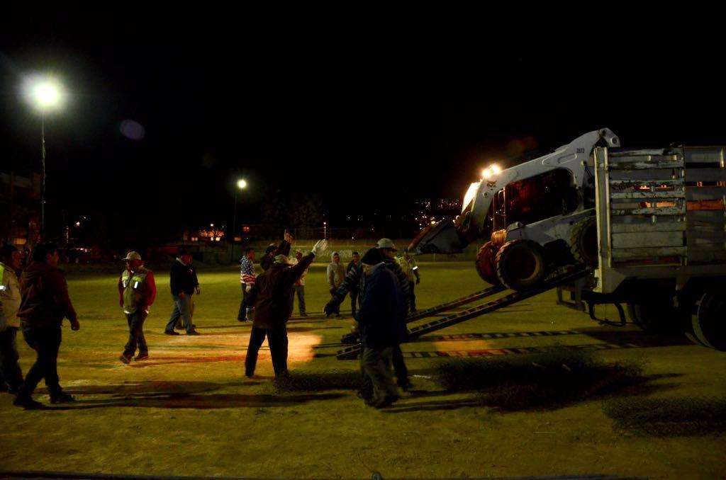 Recupera Gobierno de la CDMX deportivo en Tlalpan para remodelarlo. (Secretaría de Gobierno de la CDMX)
