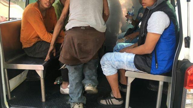 Cinco mujeres y 23 hombres en situación de calle fueron desalojados de un campamento improvisado en la colonia Centro. (@SeGobCDMX)