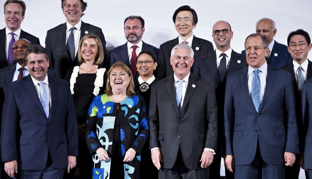 Reunión de ministros de Exteriores del G20 en Alemania (AP)