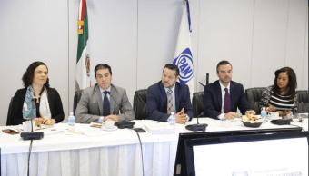 Al salir de la reunión, el coordinador Fernando Herrera y el senador Roberto Gil, revelaron algunos detalles y expresaron su respaldo para que sea ratificado por el pleno. (@FHerreraAvila)