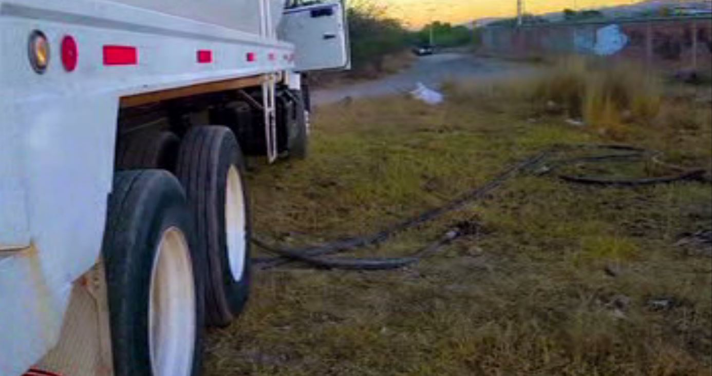 Robo de combustible en Hidalgo. (Noticieros Televisa)