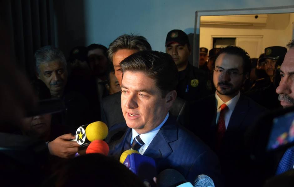 Rodrigo Medina, ex gobernador de Nuevo León