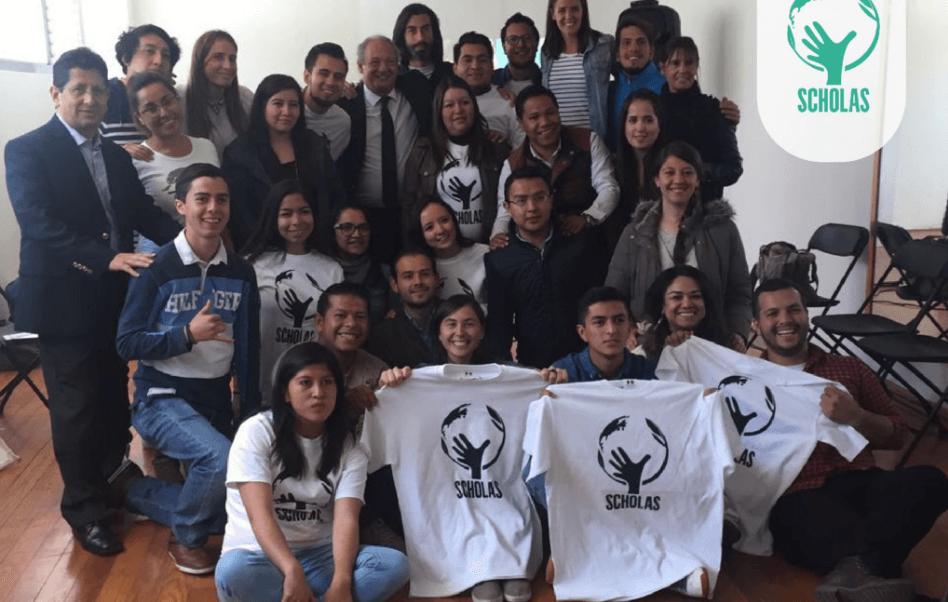 Scholas ha estado en Argentina, Haití, Colombia, Paraguay, Emiratos Árabes y España. (@InfoScholas)