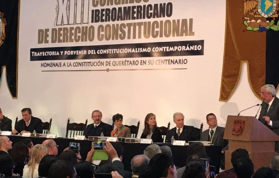 Una carta magna debe ser clara, precisa, cercana a los ciudadanos, para que la hagamos nuestra la recordemos aseguró el rector de la UNAM
