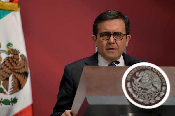 El secretario de Economía, Ildefonso Guajardo Villarreal, (Presidencia de la República)