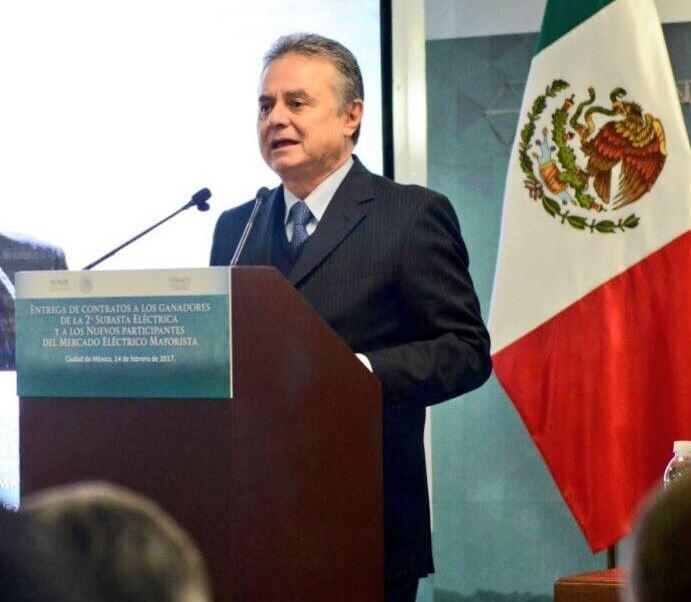 Pedro Joaquín Coldwell, secretario de Energía. (Twitter/@JoaquinColdwell)