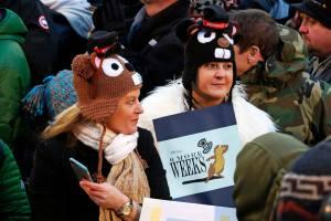 Seguidores de la marmota Phil de Pennsylvania