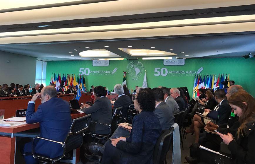 Tratado de Tlatelolco es inspiración para retos actuales — Canciller mexicano