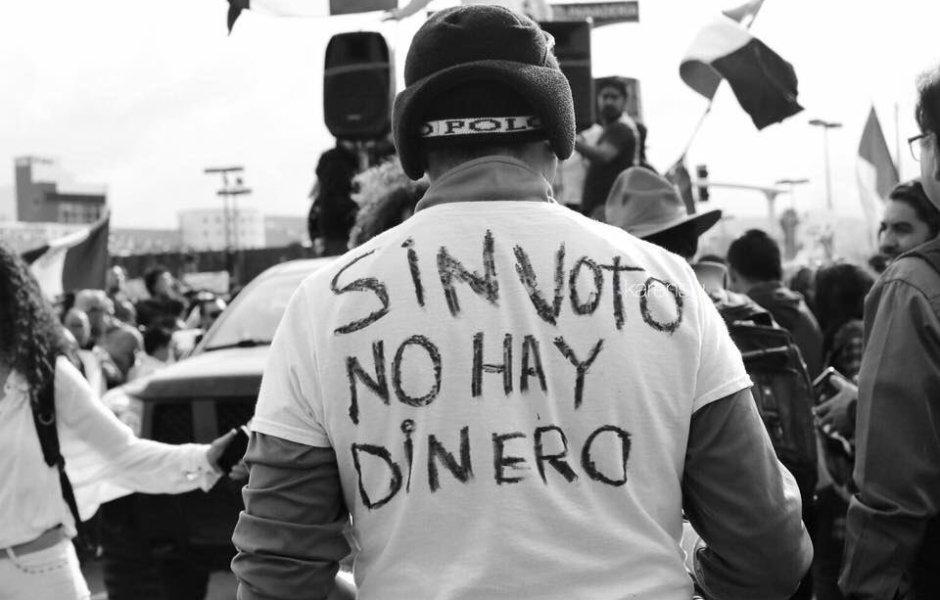 Iniciativa de Pedro Kumamoto #sinvotonohaydinero reduce dinero a partidos