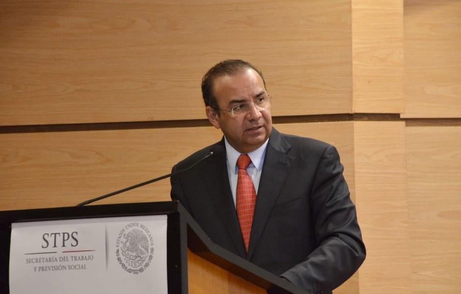 Alfonso Navarrete Prida, secretario del Trabajo y Previsión Social (oficial STPS)