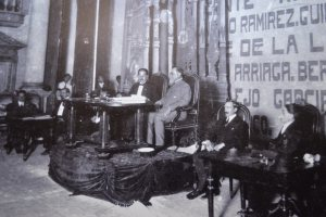 Interior del Teatro de la República en 1917 (Notimex)