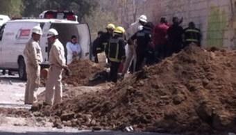 Autoridades aseguraron en Mineral de la Reforma, Hidalgo, un túnel por donde huachicoleros extraían ilegalmente combustible.