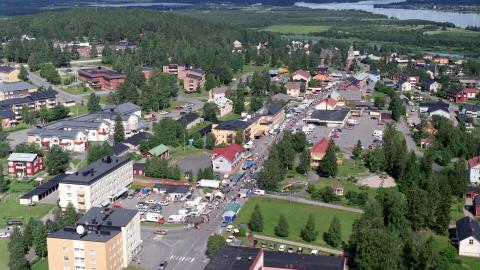 Vista panorámica de Overtornea, Suecia (http://www.overtornea.se)