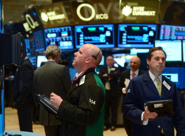 Operadores de Wall Street atentos a la jornada bursátil (Getty Images)