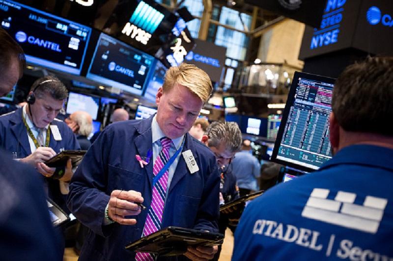 Estados Unidos, Wall Street, Bolsa de Nueva York, Dow Jones, Standard and Poor's. Nasdaq, NYSE