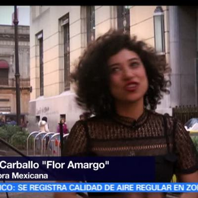 La entrevista con Flor Amargo