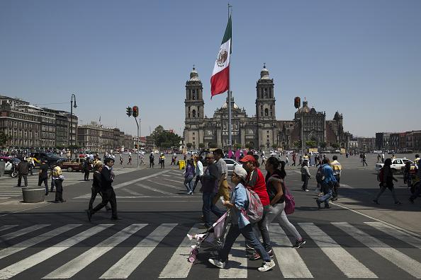 El INAH autorizó el proyecto de rehabilitación de la plancha del Zócalo de la Ciudad de México. (Getty Images)