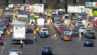 Salen más 160 vehículos por minuto de la Ciudad de México