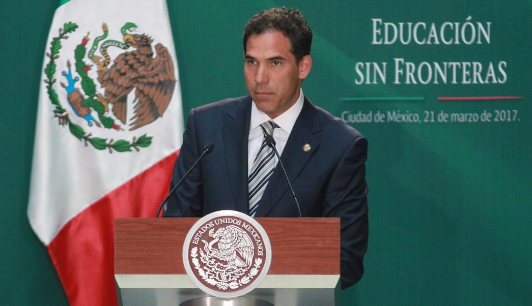 Pablo Escudero, presidente de la Mesa Directiva del Senado. (Notimex, archivo)