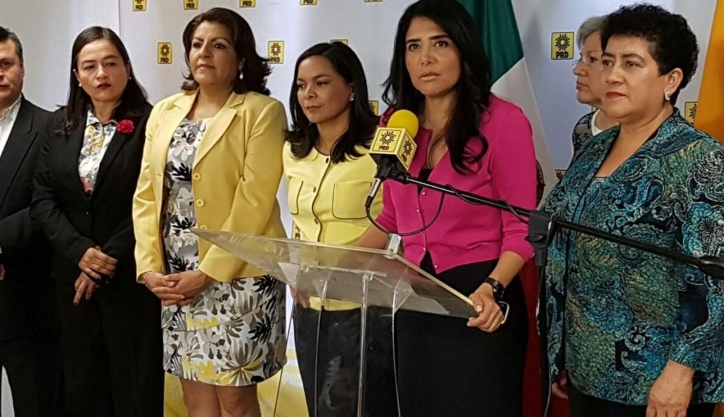 Alejandra Barrales, presidenta Nacional del PRD.