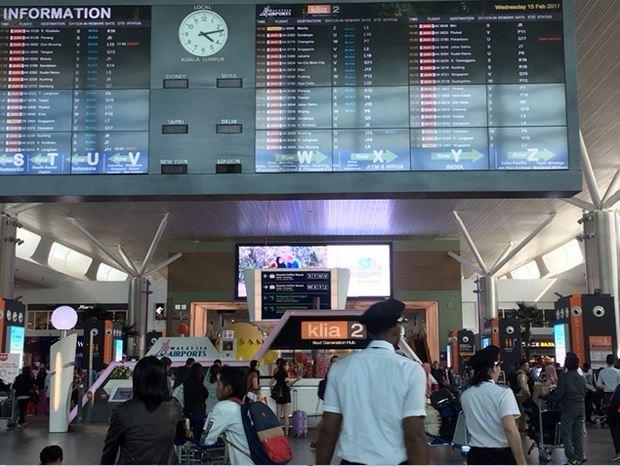 Aeropuerto Kuala Lumpur en Malasia. (AP, archivo)