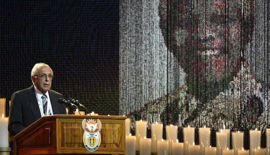 Ahmed Kathrada era una de las figuras morales más respetadas y activas en la vida pública sudafricana. (AP, archivo)